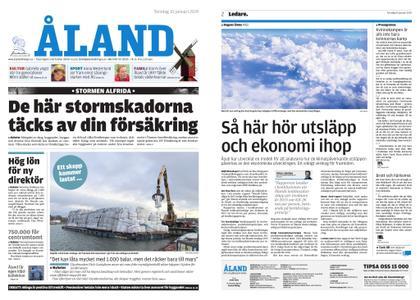 Ålandstidningen – 10 januari 2019