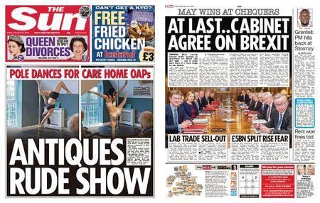 The Sun UK – 23 February 2018