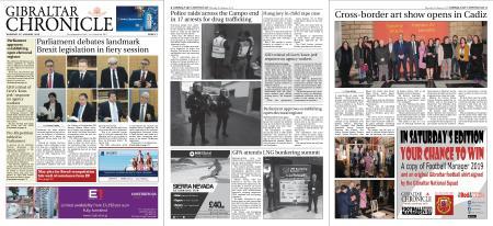 Gibraltar Chronicle – 31 January 2019