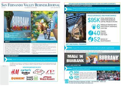 San Fernando Valley Business Journal – April 29, 2019