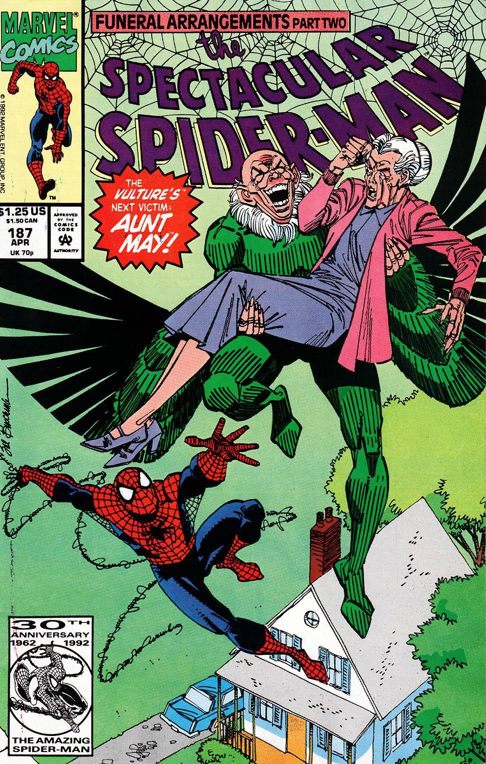 Spider-Man [3861] Peter Parker - The Spectacular Spider-Man v1 187
