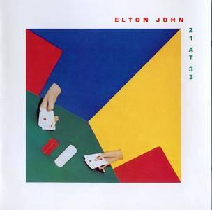 Elton John - 21 At 33 (1980) [Rocket 800 055-2, Germany] Repost