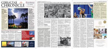 Gibraltar Chronicle – 22 July 2020