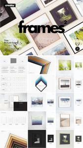 CreativeMarket - Picture Thin Frame Mockup Set