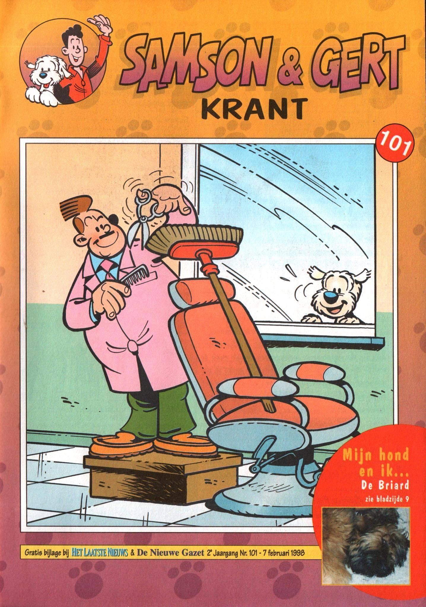 Samson  Gert Krant - 101 - Nummer 101