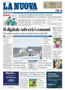 La Nuova Sardegna Nuoro - 27 Novembre 2018