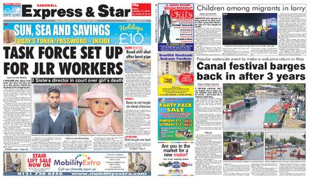 Express and Star Sandwell Edition – January 11, 2019