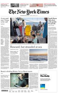 International New York Times - 11 January 2019