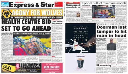 Express and Star Sandwell Edition – April 08, 2019
