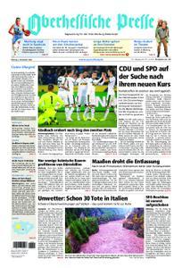Oberhessische Presse Marburg/Ostkreis - 05. November 2018