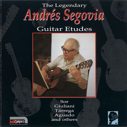 The Legendary Andrés Segovia - My Favourite Works (Vols. 1 to 7) [FLAC]