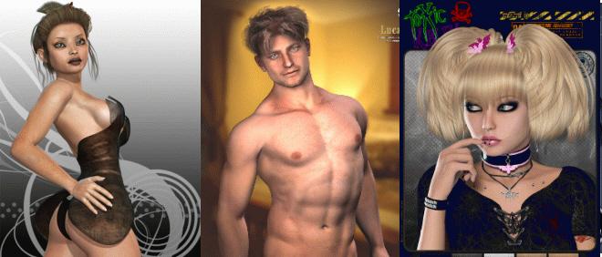 3D: OkamiX | Lucas for Michael 4 | ToXic Kelly