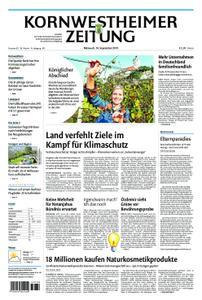 Kornwestheimer Zeitung - 18. September 2019