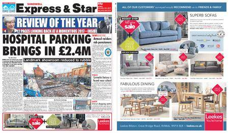 Express and Star Sandwell Edition – December 29, 2017