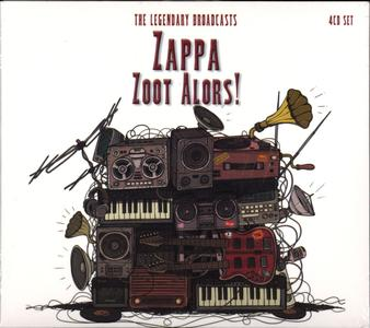 Frank Zappa - Zoot Alors! (2017) {4CD Set Coda Publishing CPLCD248 rec 1975-1981}