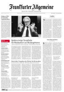 Frankfurter Allgemeine Zeitung - 27 Juli 2020