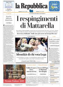 la Repubblica – 23 maggio 2019