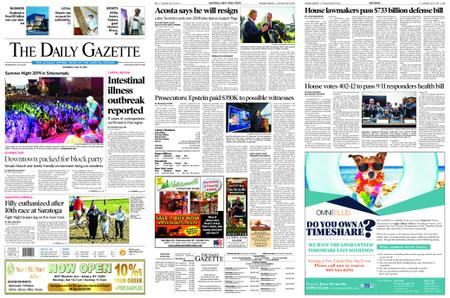 The Daily Gazette – July 13, 2019