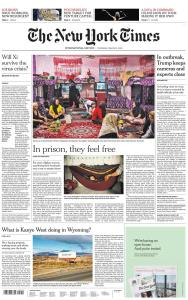 International New York Times - 5 March 2020