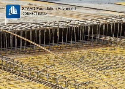 STAAD Foundation Advanced CONNECT Edition V8 Update 4