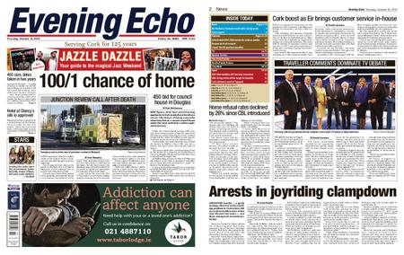 Evening Echo – October 18, 2018