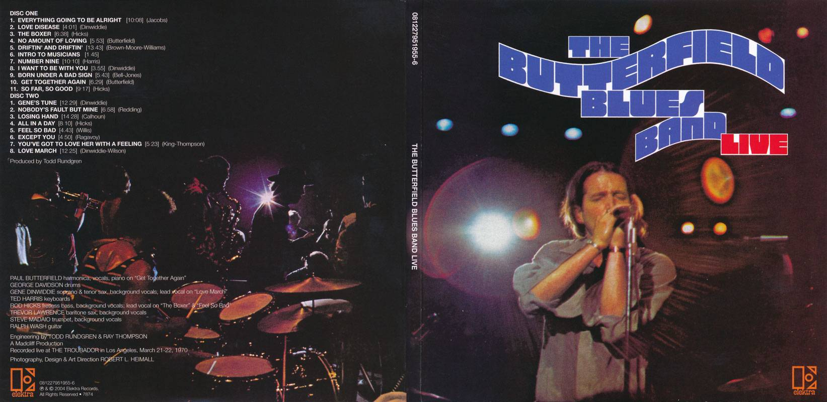 Paul Butterfield Blues Band - Live (1970)