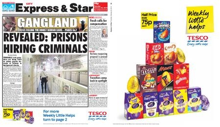 Express and Star City Edition – February 28, 2019
