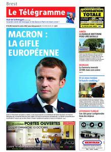 Le Télégramme Brest – 11 octobre 2019