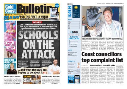The Gold Coast Bulletin – July 16, 2019