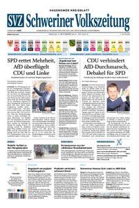 Schweriner Volkszeitung Hagenower Kreisblatt - 02. September 2019