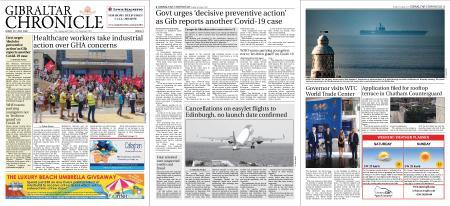 Gibraltar Chronicle – 31 July 2020