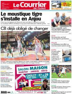 Le Courrier de l'Ouest Cholet - 23 Octobre 2017