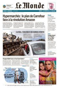 Le Monde du Mercredi 24 Janvier 2018