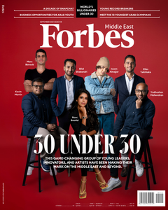 Forbes Middle East English Edition - September 2021