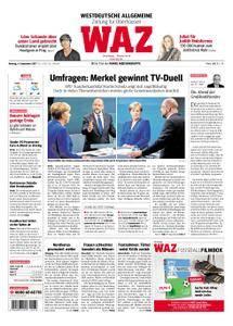 WAZ Westdeutsche Allgemeine Zeitung Oberhausen-Sterkrade - 04. September 2017