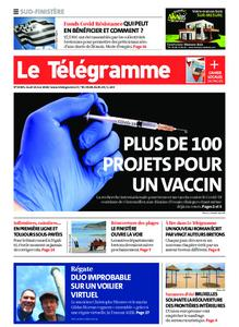 Le Télégramme Quimper – 14 mai 2020