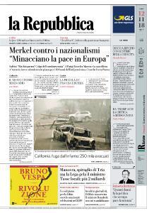 la Repubblica - 12 Novembre 2018