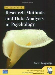 Introduction To Research Methods & Data Analysis In Psychology