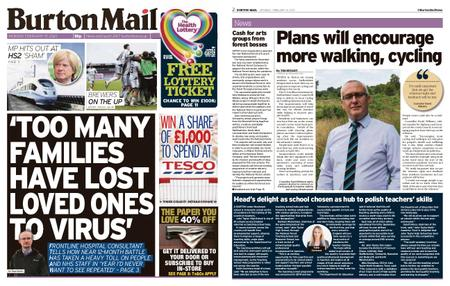 Burton Mail – February 15, 2021
