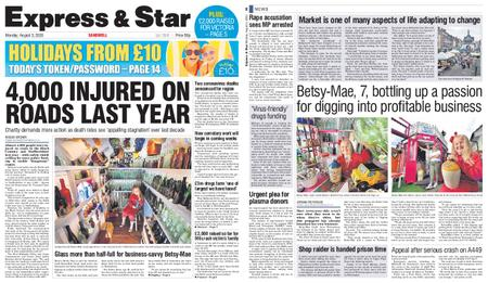 Express and Star Sandwell Edition – August 03, 2020