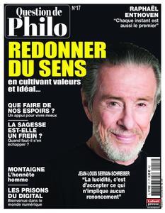 Question de Philosophie - 10 mars 2020