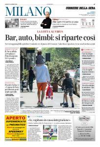 Corriere della Sera Milano – 25 aprile 2020