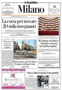 la Repubblica Milano - 6 Luglio 2020