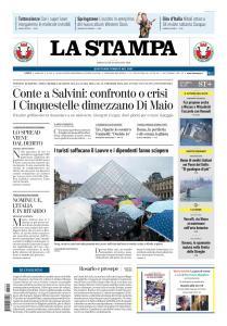 La Stampa Torino Provincia e Canavese - 29 Maggio 2019