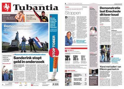 Tubantia - Enschede – 02 oktober 2017
