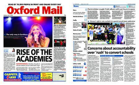 Oxford Mail – July 16, 2018