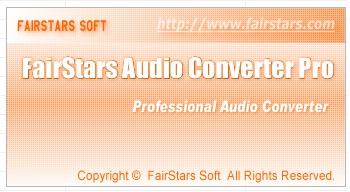FairStars Audio Converter Pro 1.44