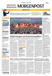 Solinger Morgenpost – 22. Juli 2019