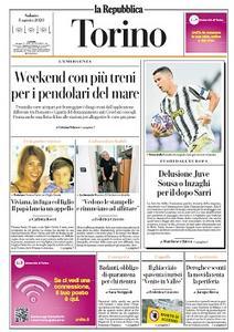 la Repubblica Torino - 8 Agosto 2020