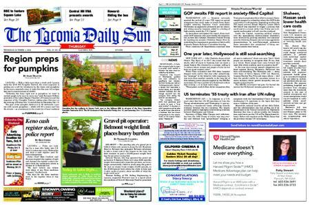 The Laconia Daily Sun – October 04, 2018